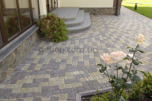 Тротуарная плитка в интерьере фото